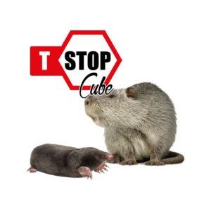 T-STOP CUBE disabituante talpe e nutrie 2,5 kg
