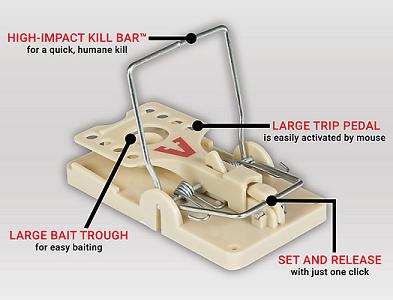 Victor Power-Kill Rat Trap